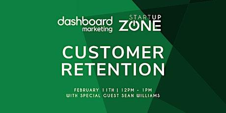 Customer Retention Workshop with Sean Williams tickets