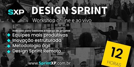 Workshop de Design Sprint ingressos