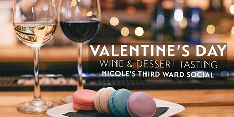 Valentine's Day Wine and Dessert Tasting for Two tickets