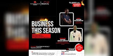 Business Seminar - Business This Season tickets