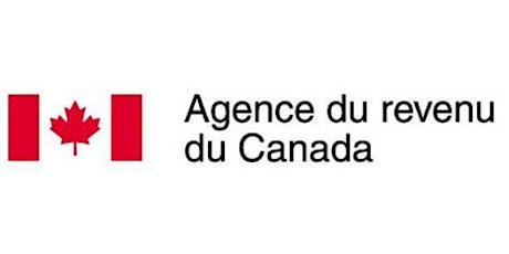 """AGENCE DE REVENU DU CANADA """" CRÉDIT D'IMPÔT ET PRESTATIONS POUR LES AÎNÉS"""" billets"""