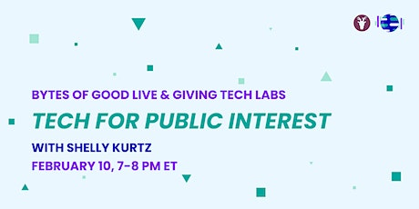 Bytes of Good Live: Tech for Public Interest tickets
