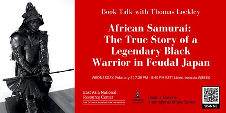 African Samurai: True Story of a Legendary Black Warrior in Feudal Japan tickets