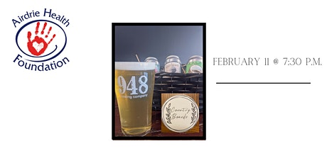 Airdrie Health Foundation Beer/Food Pairing Fundraiser tickets