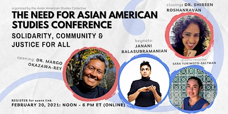 The Need for Asian American Studies tickets