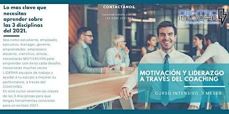 3 disciplinas clave 2021: Motivación y Liderazgo  a través del Coaching entradas