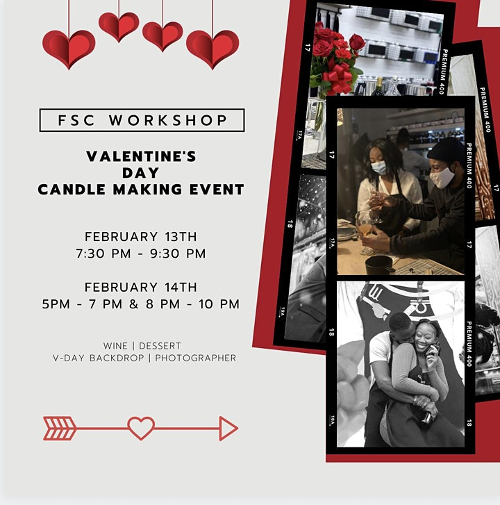 Valentine's Day Couples Candle Making Event! image