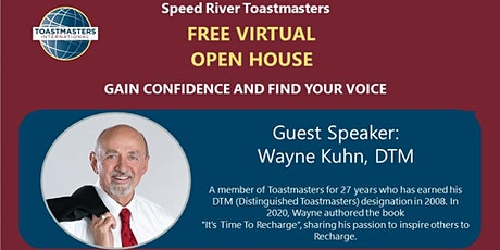 Toastmasters Free Virtual Open House tickets