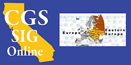 Eastern European Special Interest Group billets
