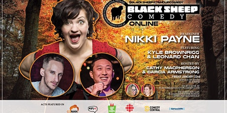 Black Sheep Comedy Online Featuring Nikki Payne tickets