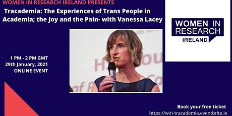 Tracademia: The Experiences of Trans People in Academia: the Joy & the Pain tickets