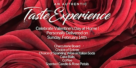 An  Authentic Taste Experience on Valentine's Day at Home! tickets