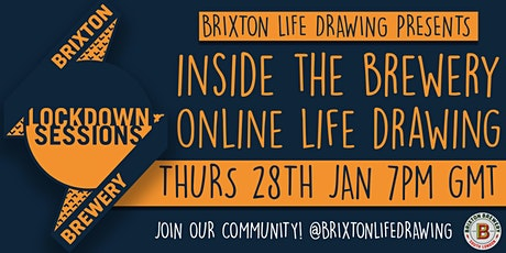 Brixton Life Drawing X Brixton Brewery - Online Life Drawing tickets
