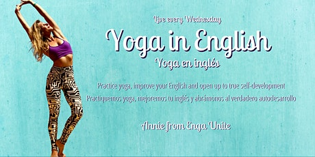 Yoga Flow in English - Clase de yoga en inglés | Annie from Enga Unite billets