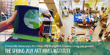 The Art Hives Spring 2021 Institute : a 3-Part Online Training Series tickets