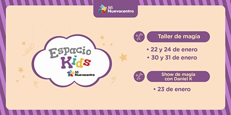Espacio Kids -Magia tickets
