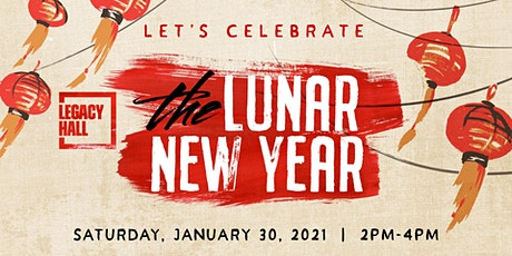 2nd Annual Lunar New Year at Legacy Hall tickets