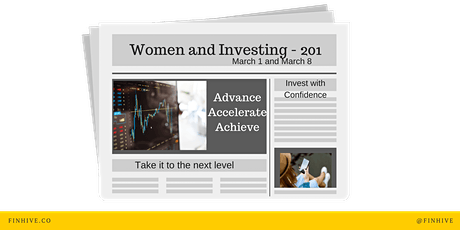 Women and Investing 201 tickets