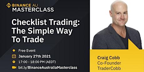 TraderCobb x Binance Australia: Binance Australia Online Masterclass tickets