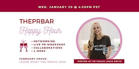 THEPRBAR Happy Hour - PR Workshop + Networking tickets