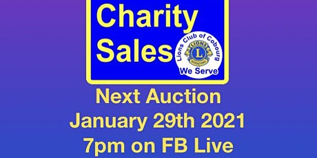 Charity Virtual Auction  tickets