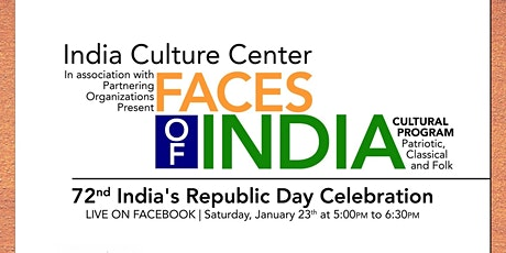 72nd India's Republic Day Celebration tickets