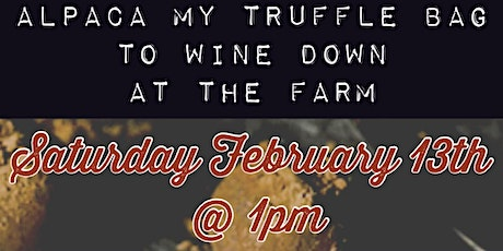 Valentine's Truffle Making and Wine Pairing Event tickets