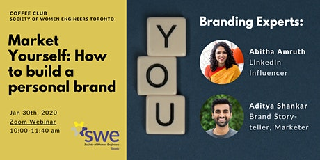 SWE Coffee Club - Market Yourself: How to Build a Personal Brand tickets