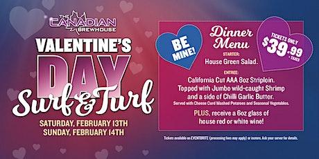 Valentine's Day Surf & Turf Dinner (Abbotsford) tickets