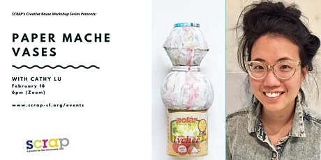 Paper mache vase making with Cathy Lu tickets