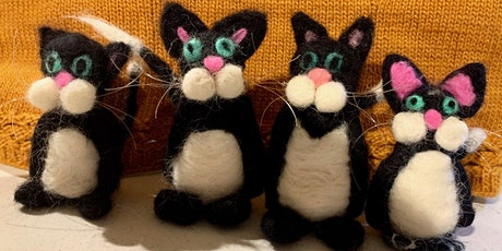Needle Felted Cats tickets
