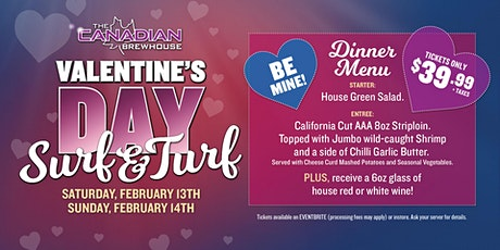 Valentine's Day Surf & Turf Dinner (Prince George) tickets