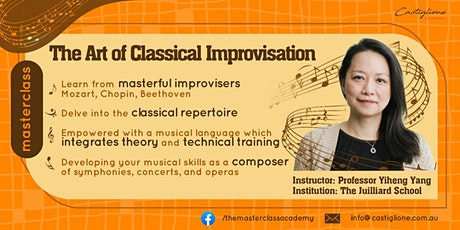 Youth Improvisation Class with Professor Yiheng Yang tickets