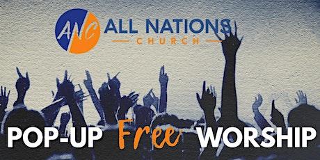 Pop-Up Free Worship Night-January 30th tickets