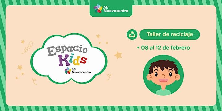 Imagen de Espacio Kids- Taller de Reciclaje