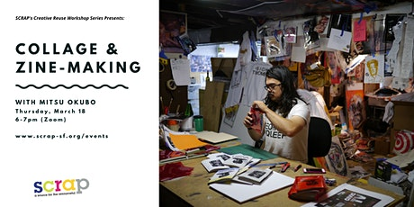 Collage and Zine-Making with Mitsu Okubo tickets