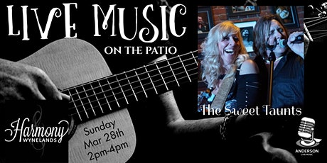 The Sweet Taunts - Live Music on the Patio tickets