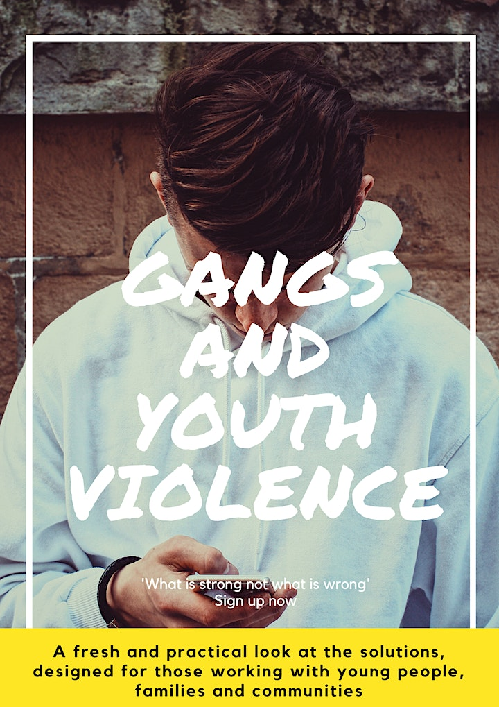 Preventing Youth Violence, Knife Crime, Gangs and County Lines image