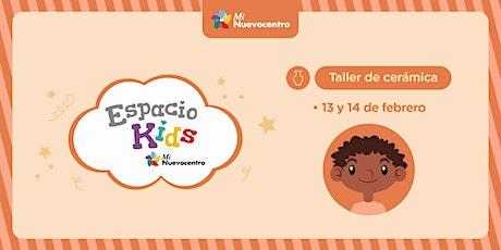 Espacio Kids- Taller de cerámica entradas