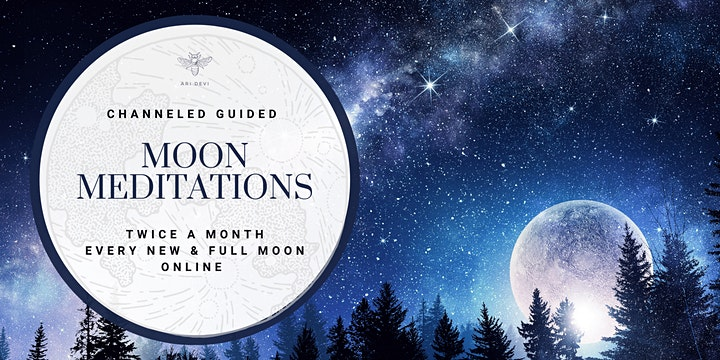 Full Moon in Leo Meditation image