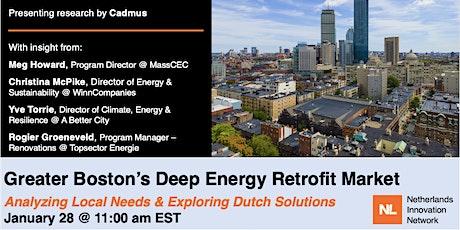 Greater Boston's Deep Energy Retrofit Market tickets