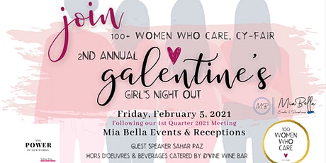 1st Quarter  Meeting and 2nd annual Galentine's Girls Night Out! tickets
