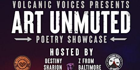 Art Unmuted : Poetry Showcase *Updated Brandon Leake Show* tickets