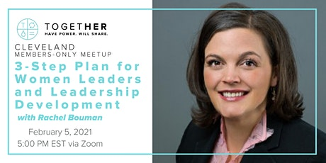 Cleveland Together 3-Step Plan for Women Leaders and Leadership Development tickets