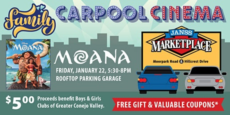 Janss Marketplace Carpool Cinema tickets