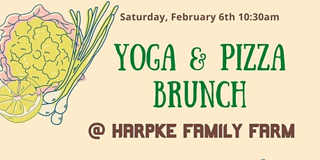 Yoga & Pizza Brunch on the Farm tickets