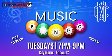 Music Bingo at City Works Eatery and Pour House - Frisco, TX tickets