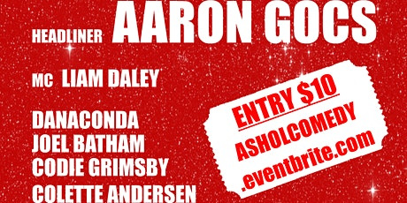 Stand Up Comedy - Aaron Gocs - 24th January tickets