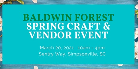 Baldwin Forest Spring Craft and Vendor Fair tickets