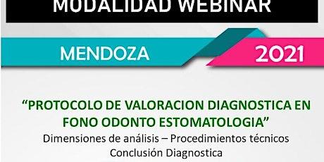 PROTOCOLO  DE VALORACIÓN DIAGNÓSTICA EN FONO ODONTO ESTOMATOLOGÍA entradas